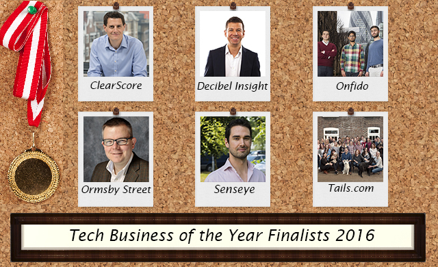 Tech business of the year finalists 2016